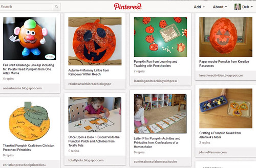 Pinterest - Pumpkin Unit Study