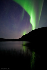 Reflection (Gary Newman) Tags: lake reflection norway arctic northernlights auroraborealis troms kattfjordeidet