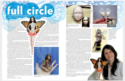 Dolls Magazine December 2011 by Doll Essence