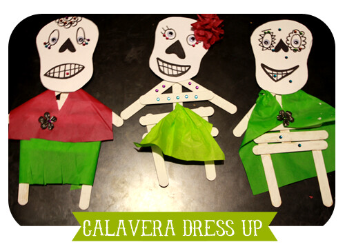 Calavera dress up