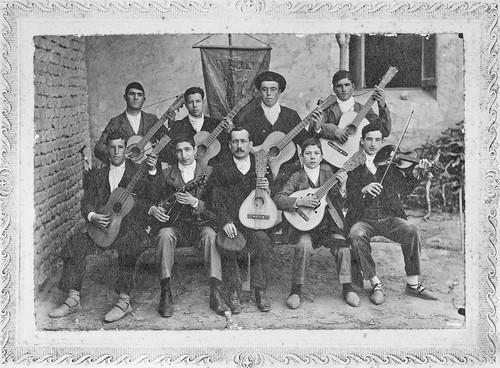 Rondalla de Cortes. 1908