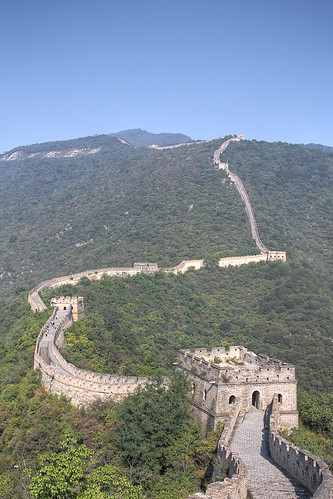 The Great Wall, Mutianyu, China