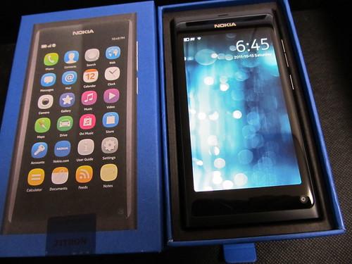 NOKIA N9 unbox 03