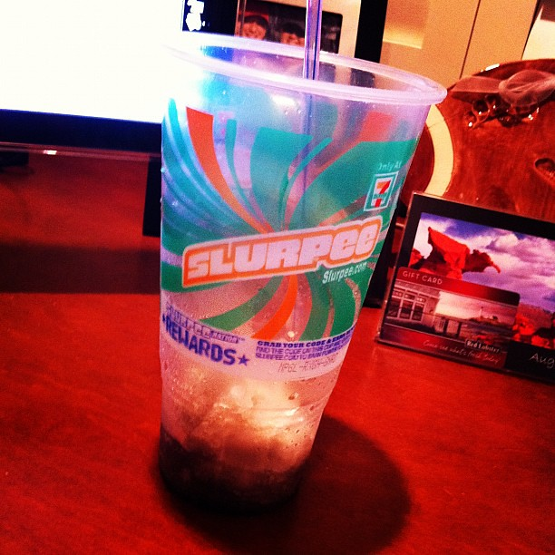 Project 365 288/365: I totally deserved this Slurpee after my very long day.