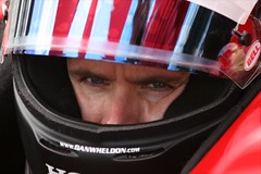 A focused Dan Wheldon in 2008 (indianapolismotorspeedway.com) Tags: camera speed canon eos racing length mode rating ims indy500 indycar danwheldon indianapolis500 indianapolismotorspeedway 4001 400metering 5610iso 1400fnumber 20dexposure 1focal