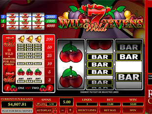 Wild Sevens 3 Line slot game online review