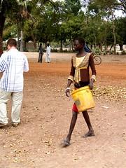 34 South Sudan: Evaluation, December 2010 (Hippo Roller) Tags: bucket december southsudan hipporoller traditionalmethod ruralterrain southsudanevaluation