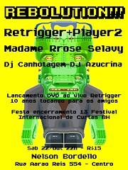 Festa lançamento Retrigger 10 anos
