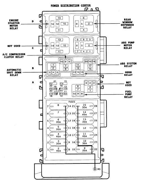 6261160762_2376212610_z i blew it please help with 97 jeep wrangler electrical problems 1998 jeep wrangler fuse box diagram at webbmarketing.co