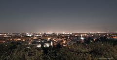 Panorama Roma night (Mattia Simoncelli) Tags: panorama rome roma night case luci capitale veduta notte citt gianicolo 10mm canonefs1022mm manfrotto055xprob canoneos7d