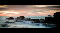 Collywell Bay (Alex Nichol) Tags: longexposure sea sunrise manualfocus carlzeissplanart50mmf14 collywellbay canoneos5dmarkii bigstopper lee09nd lee09ndhardgrad