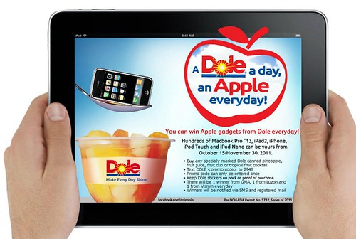 A Flyer 2DOLE A Day, An Apple Everday Flyer 2