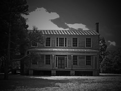 The Hour of Good and Evil at Mt. Moriah Plantation (EdgecombePlanter) Tags: moon abandoned halloween cemetery graveyard dark death scary decay ghost gothic eerie creepy spooky southern