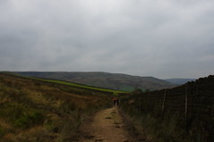 DSC05737 (Cnic Photography) Tags: clouds way cycling yorkshire lancashire pennine pennineway calderdale stoodleypike warlandreservoir sonya55 walkingthepennineway todmordenviews warlanddam