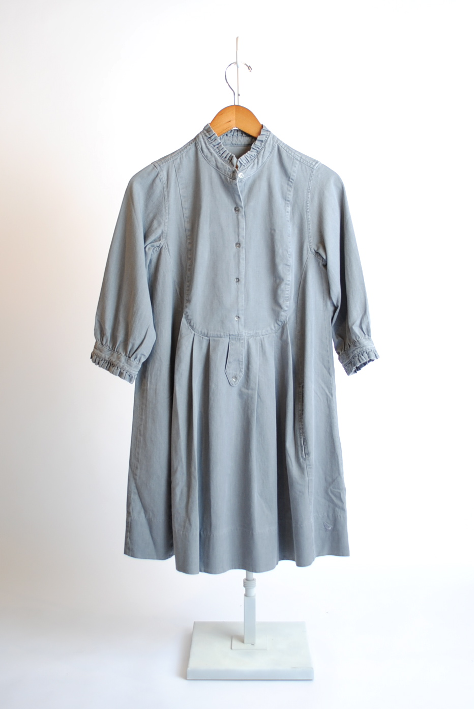 Beau Vintage Smock Cotton Dress