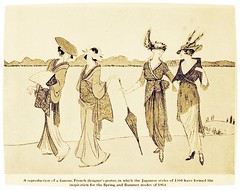 Japanese influences on Fashion 1914 (CharmaineZoe) Tags: fashion japan 1914 1900s