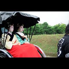 (Masahiro Makino) Tags: castle japan photoshop canon eos kyoto maiko adobe   rickshaw tamron f28 nijo lightroom  makino   1750mm 60d takahina   20111015142902canoneos60dls640p