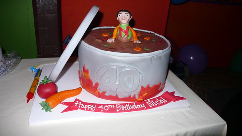 Soup Pot Birthday Cake by CAKE Amsterdam - Cakes by ZOBOT