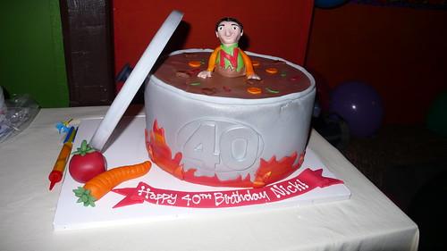 Soup Pot Birthday Cake by CAKE Amsterdam - Cakes by ZOBOT