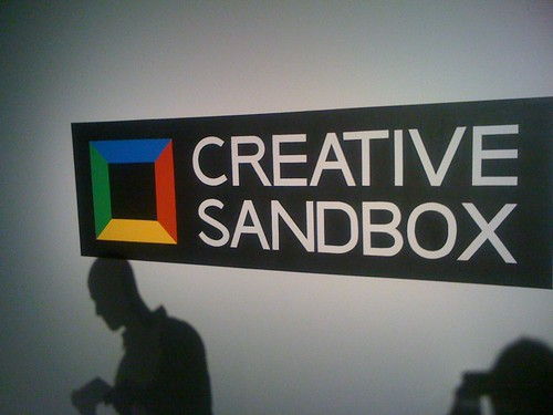 Google Creative Sandbox Logo by jonlclark, on Flickr