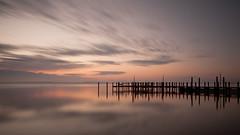 River Sunrise (alextbaum) Tags: longexposure sky colors clouds sunrise river bay pier md maryland pinnacle chesapeakebay susquehannariver thepinnaclehof kanchenjungachallengewinner thepinnacleblog tphofweek121 pinnacle102811