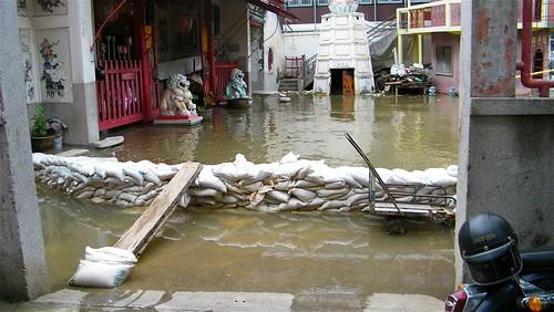 Bangkok - overstroming - Thailand