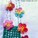Flores em Crochê - detalhe