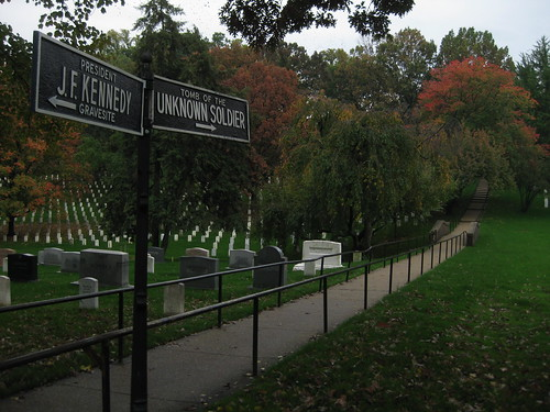 Arlington Cemetery crossroads
