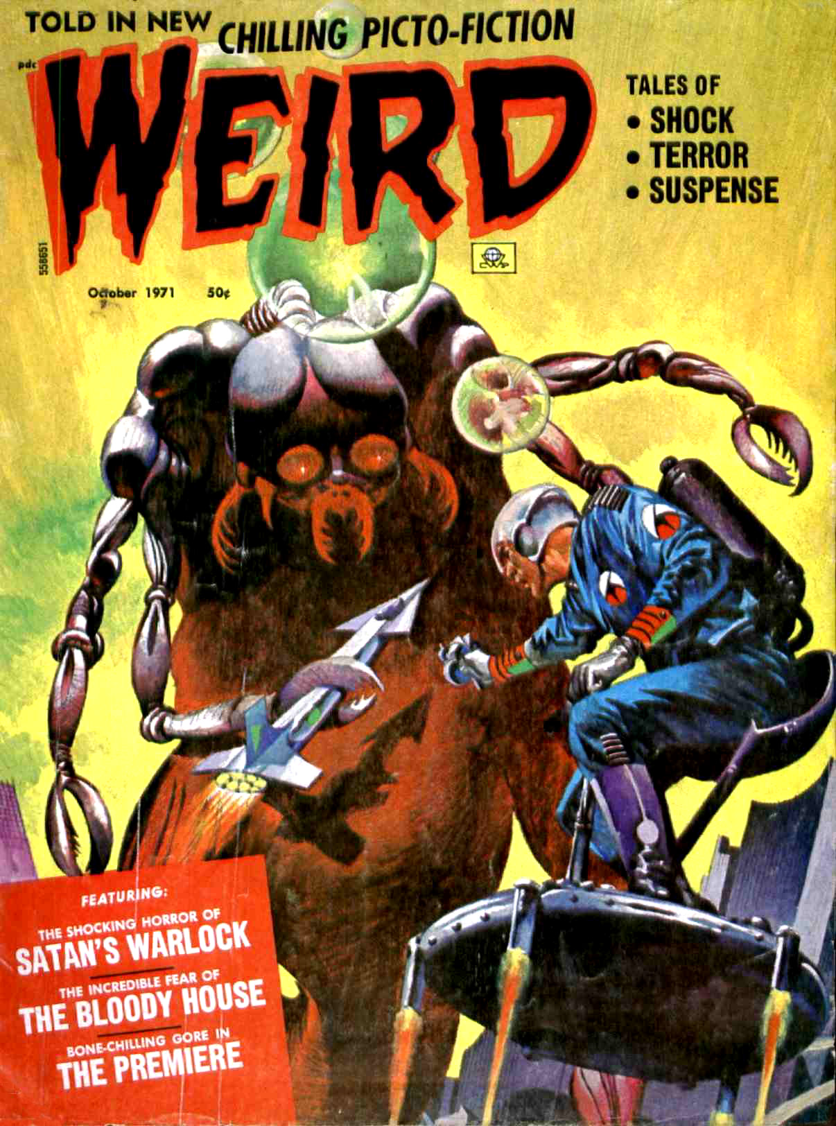 Weird Vol. 05 #5 (Eerie Publications, 1971)