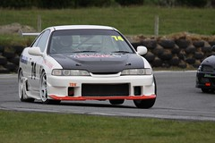 027 Q2 Honda Type R Integra (Johnston) (southspeed) Tags: newzealand car racing nz southland motorsport drainage clubman teretonga mcintyre saloons sscc clubmans southlandsportscarclub noel clubman saloons
