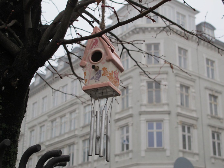 Street wind chime