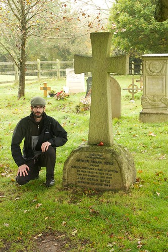 The grave of Sir Arthur Conan Doyle 6294738243_d7ef34bf9b