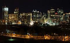 Calgary Night Skyline (Matthew P Sharp) Tags: canada calgary skyline night alberta nightview