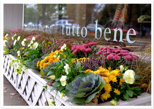 Fall Windowbox