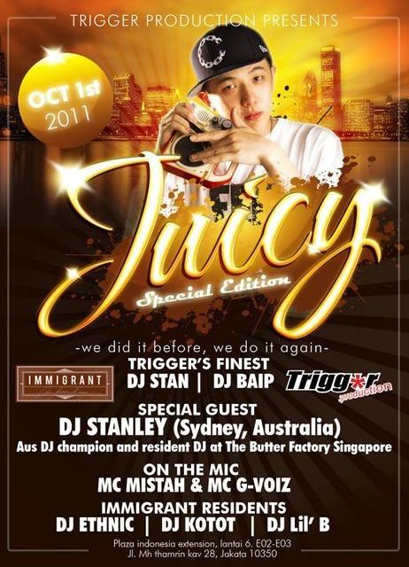 DJ Stanley @ Immigrant nightclub in Jakarta Indonesia