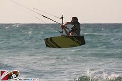 IMG_3120 (Streamer -  ) Tags: ocean friends sunset sea kite beach israel jump surf wind local 20 18  kitesurf knots parachute streamer kyte     ashkelon   ashqelon