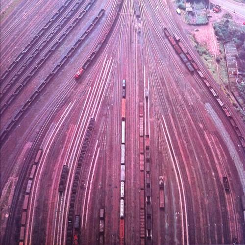 Tracks in Duisburg