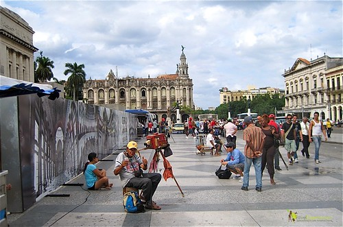 Local Artist - Central Park - Havana Cuba
