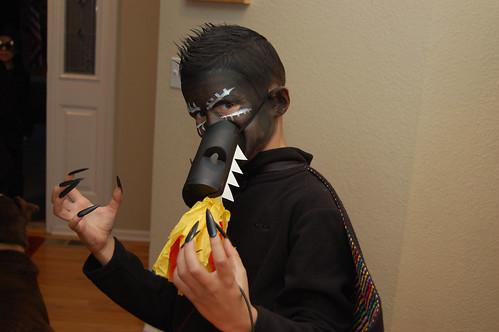 Logan-made dragon man