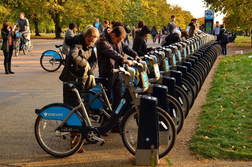 Hiring Boris Bikes