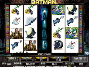 Batman bonus game