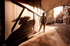 Shadow of a Giant (Nomadic Vision Photography) Tags: portrait breakdance streetdance urbanportrait jonreid londonculture urbanathlete tinareid httpjonreidnet urbanfitness londonfitness