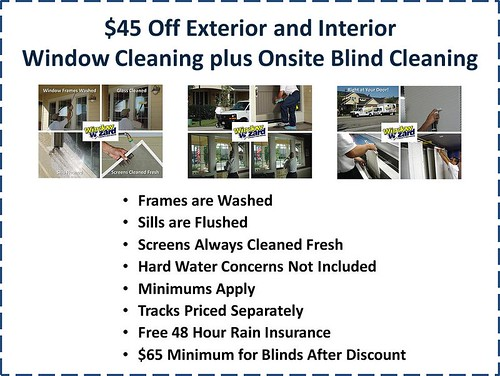 Window Wizard Residential Window Cleaning Window And