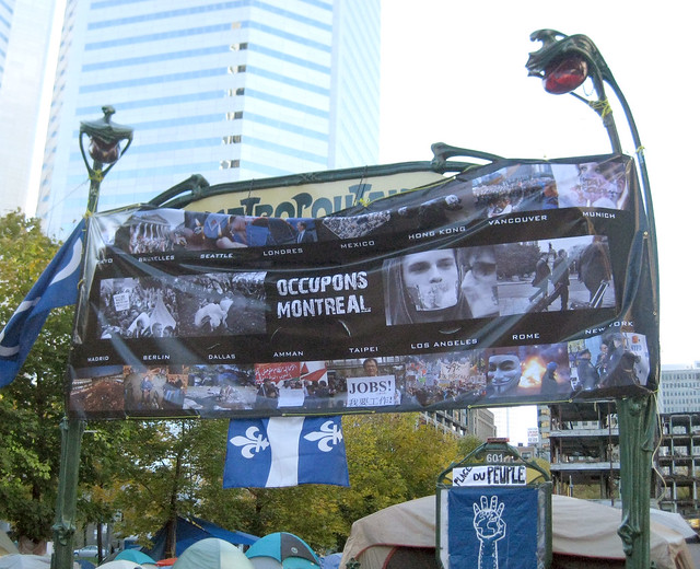 Occupons Montréal Bannière