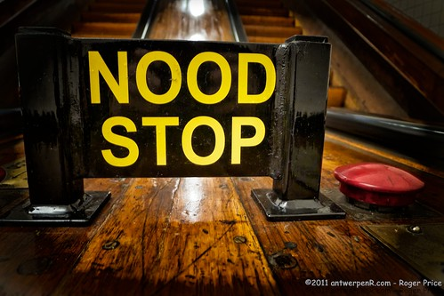 NOOD STOP - Emergency Stop!