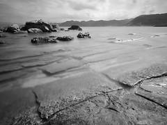 Cracked Pavements (night86mare) Tags: seascape rocks long exposure harbour taiwan gui k5  wanli hou 10mm