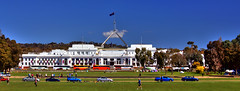 Colours of Parliament House (Tintinara) Tags: