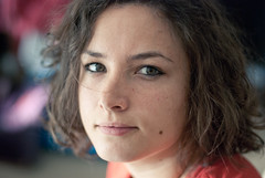 Marie (jamesbooth_london) Tags: portrait london girl nikon naturallight headshot east whitechapel e1 d80 nikkor50mm14