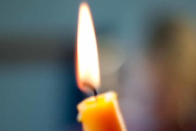 a candle's fire