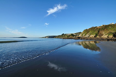 Early morning Millendreath Beach at Looe (rosyrosie2009) Tags: uk autumn sea england cloud seascape beach water beautiful photography coast rocks flickr cornwall photos hdr gettyimages looe westcountry coastpath westernmorningnews southwestcoastpath looeisland devonandcornwall d5000 millendreath rosiesphotos plaidy westernmorningview nikond5000 tamronspaf1024mmf3545diiildasphericalif rosiespooner rosyrosie2009 rosemaryspooner rosiespoonerphotography